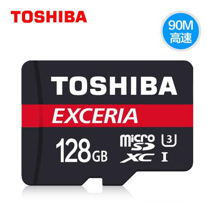 小青蛙數位 TOSHIBA 東芝 128G Micro SD U3 R90MB 高速傳輸90MB/s 記憶卡 TF | 露天拍賣