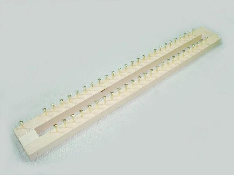 【非織不可】木製釘板 25針 圍巾編織器 - 露天拍賣