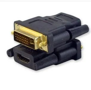 HDMI母轉DVI(24+1)公 DVI 轉 HDMI 轉接頭 轉接 高畫質影像 高解析 數位訊號 高品質 傳輸 - 露天拍賣
