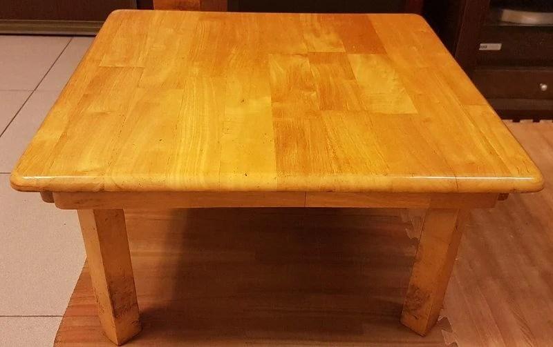 二手實木 可折疊和室桌 茶幾 摺疊桌 麻將桌 - 露天拍賣