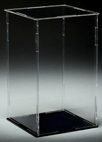 [訂購] 萌之屋~高透明 壓克力 防塵盒 模型盒 展示盒 [拼裝式] - 露天拍賣