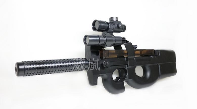 2館 WELL P90 衝鋒槍 電動槍 D90H (BB槍BB彈瓦斯槍玩具槍空氣槍CO2槍卡賓槍 UZI MP5 AUG - 露天拍賣
