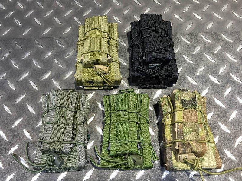 【我愛杰丹田】TMC MOLLE 單聯M4彈匣袋加手槍彈匣袋 HSGI FG RG 色下標區 TMC1983-FG - 露天拍賣