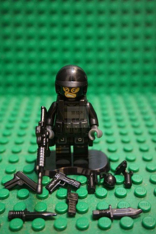 樂積木 將牌 78057 反恐特警組 [ SWAT 特警 C款 ] 袋裝版 三角洲 海豹 SWAT 非樂高 第三方 - 露天拍賣