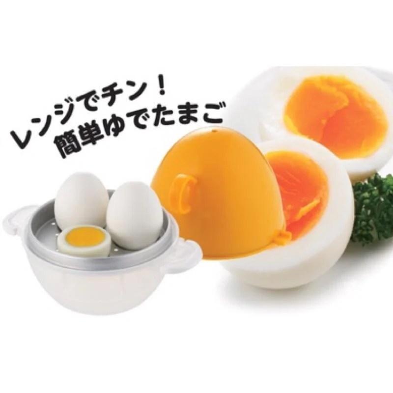日本販賣通 (代購)日本製 AKEBONO 曙產業 微波 溏心蛋 微波煮蛋器 3顆 家庭用 RE-287 - 露天拍賣