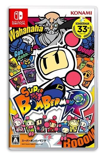 全新未拆 NS 超級轟炸超人R 中文日文英文日版 炸彈超人 Super Bomberman R Switch - 露天拍賣