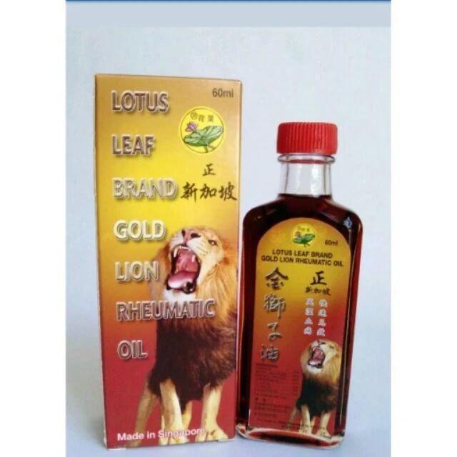 新加坡 荷葉牌金獅子油60ml - 露天拍賣