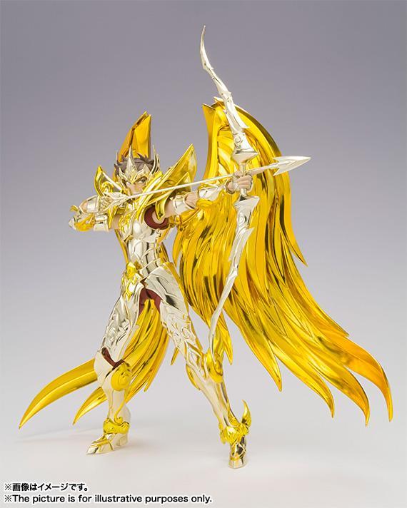 售完 聖鬥士星矢 聖闘士聖衣神話EX 代理 射手座 艾奧羅斯 神聖衣 黃金魂 - 露天拍賣