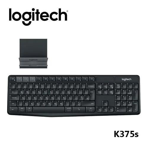紐頓電子 開發票★ Logitech 羅技 K375s 跨平臺無線 藍牙 鍵盤支架組合 - 露天拍賣