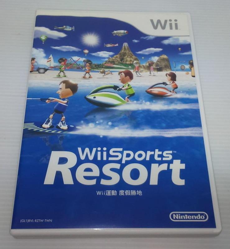 [小麥]Wii運動 度假勝地 中文版(Wii Sports Resort中文版)-2 - 露天拍賣