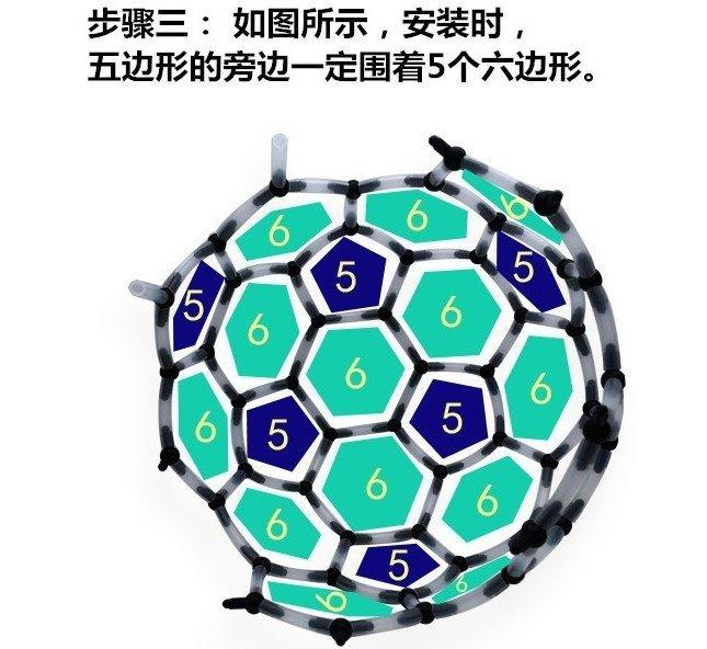 現貨/立體拚圖/碳60分子模型/C60模型/巴克球/分子模型/磁鐵筆/POLAR PEN/ - 露天拍賣