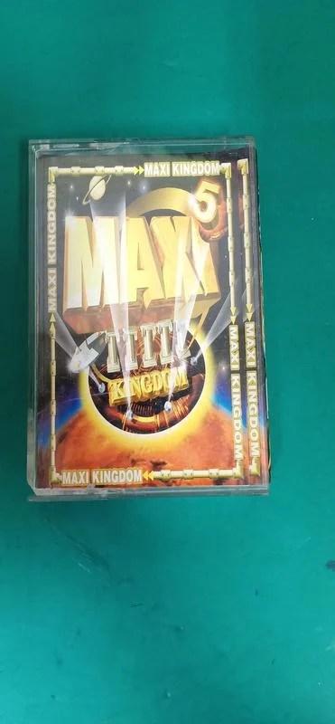 附歌詞 懷舊卡式錄音帶 卡帶 磁帶-- MAXI KINGDOM 舞曲大帝國 5 Z85 - 露天拍賣
