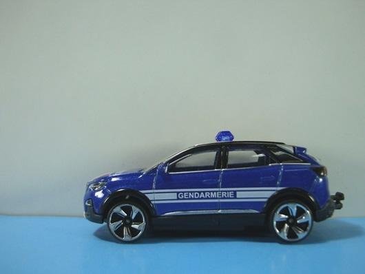 MAJORETTE 特殊版本 標緻 PEUGEOT 3008 GT 軍用憲兵配色 - 露天拍賣