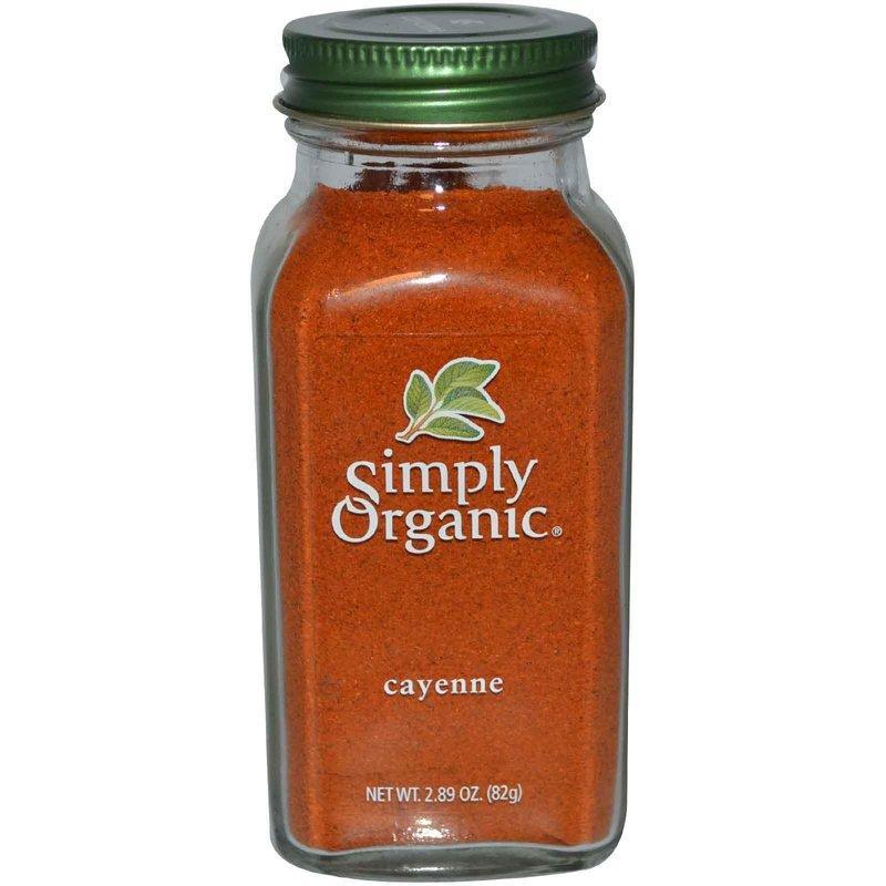 Simply Organic 卡宴辣椒粉 / 紅辣椒粉:2.89 oz (82 g) - Cayenne 089836187611 - 露天拍賣