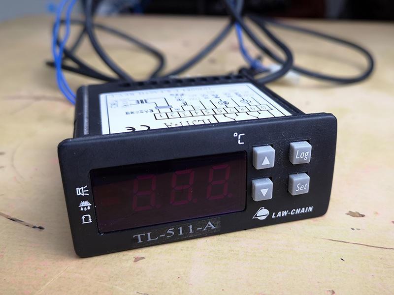 中古冷凍溫控儀TL-511-A冷藏控制器冰箱溫度控制器溫控器 - 露天拍賣