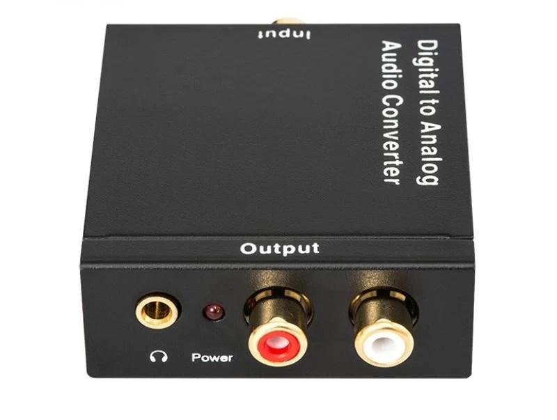 最新大功率雙輸出高階版 美國晶片 光纖轉類比 同軸轉類比 DAC 電視接音響 解碼器 電視接喇叭 光纖轉3.5 RCA ...
