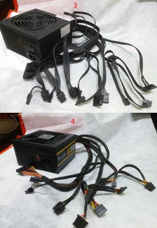 二手良品 Power Supply 500瓦 500W 550瓦 550W 電源供應器 - 露天拍賣