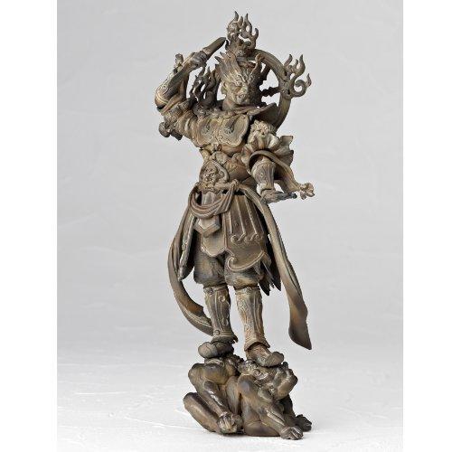 日版 海洋堂 山口式 佛像系列 004 EX 增長天 木雕版 木調版 | 露天拍賣