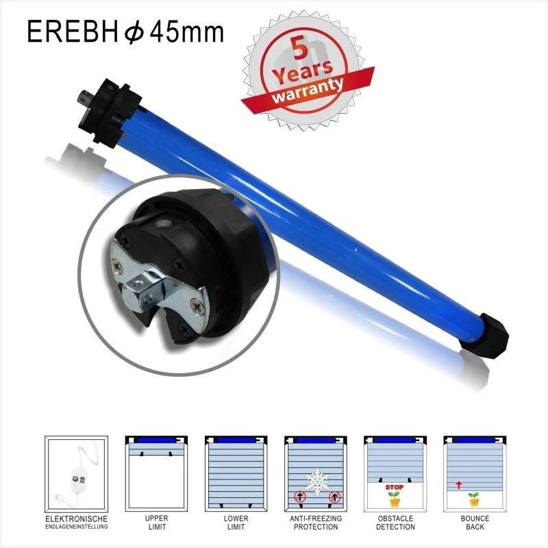 管狀馬達EREBH系列-電子按鈕型(管狀電機,適用于電動窗簾,電動卷簾,投影布幕,自動曬衣架) - 露天拍賣