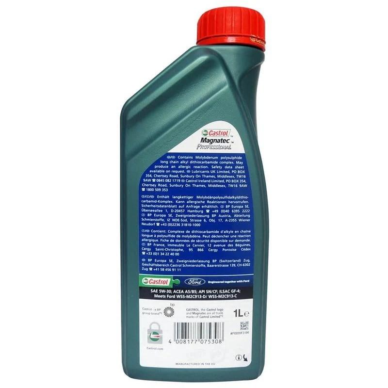 福特 FORD Magnatec Prof A5 5W30 全合成機油 原廠機油(整箱12入) - 露天拍賣