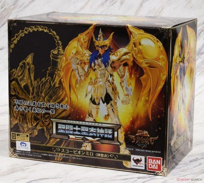 聖鬥士星矢 聖衣神話EX 黃金魂 天蠍座 米羅 神聖衣 正版 代理 - 露天拍賣