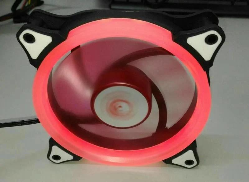 德隆 YAMA aigo 12CM LED 極光系統風扇 - 露天拍賣