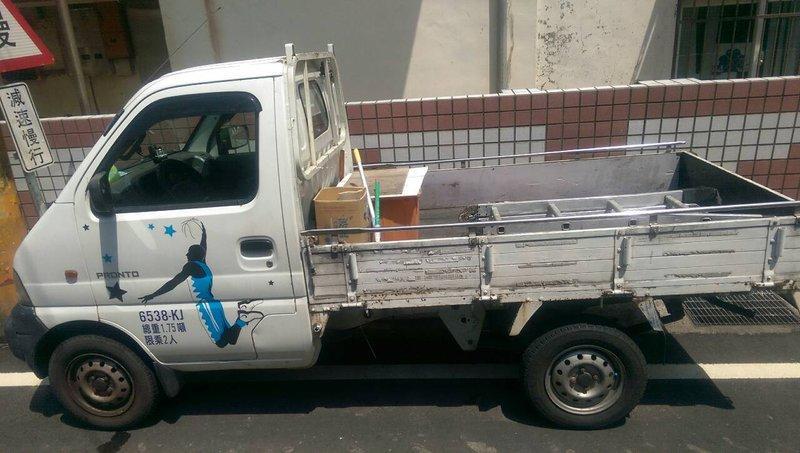 自售 福特好幫手貨車 有附伸縮棚子歐 - 露天拍賣