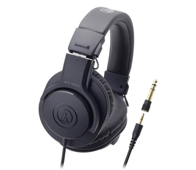 ㊣臺中錄人甲㊣ audio-technica / ATH-M20x【高音質錄音室用監聽耳機的入門機型】   露天拍賣