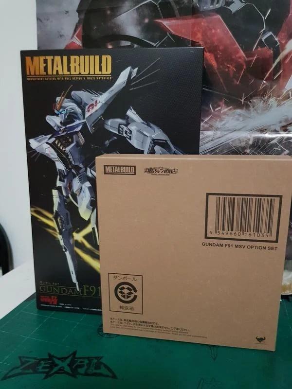 (二手)METAL BUILD GUNDAM F91 + MSV配件包 - 露天拍賣