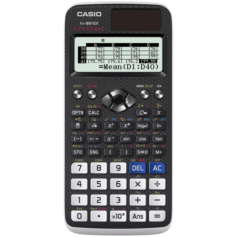 最後一臺 新一代極輕薄高解析度 Casio FX-991 EX CLASSWIZ - 露天拍賣