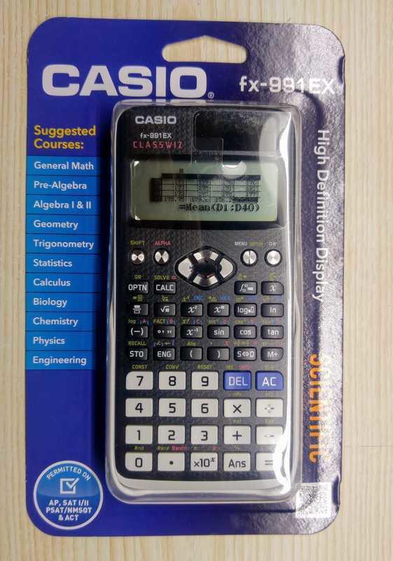 立即發貨 卡西歐 CASIO fx 991 EX 工程計算機 最新一代高解析度 991ES PLUS的升級版 - 露天拍賣