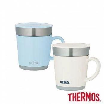 膳魔師 不鏽鋼真空保溫杯 隨行杯 馬克杯白色/ 淺藍任選 JDC-351 350ML - 露天拍賣
