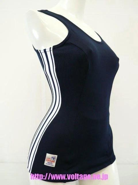 【日本高校部活衣裝代購】日本女學生泳衣(舊型水著) 品牌:TopAce KK-75 S~LL - 露天拍賣
