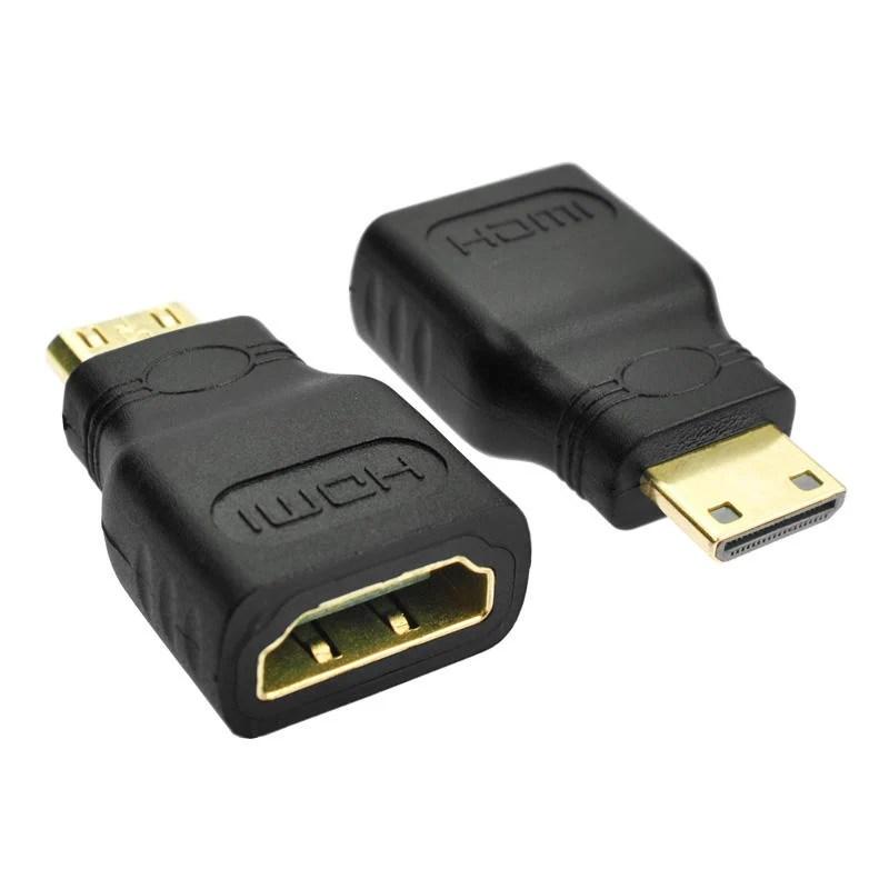 高清迷你Mini HDMI轉標準hdmi母轉接頭平板DV攝像機接電視轉換頭 (商品如圖可選) 【18-007】 - 露天拍賣
