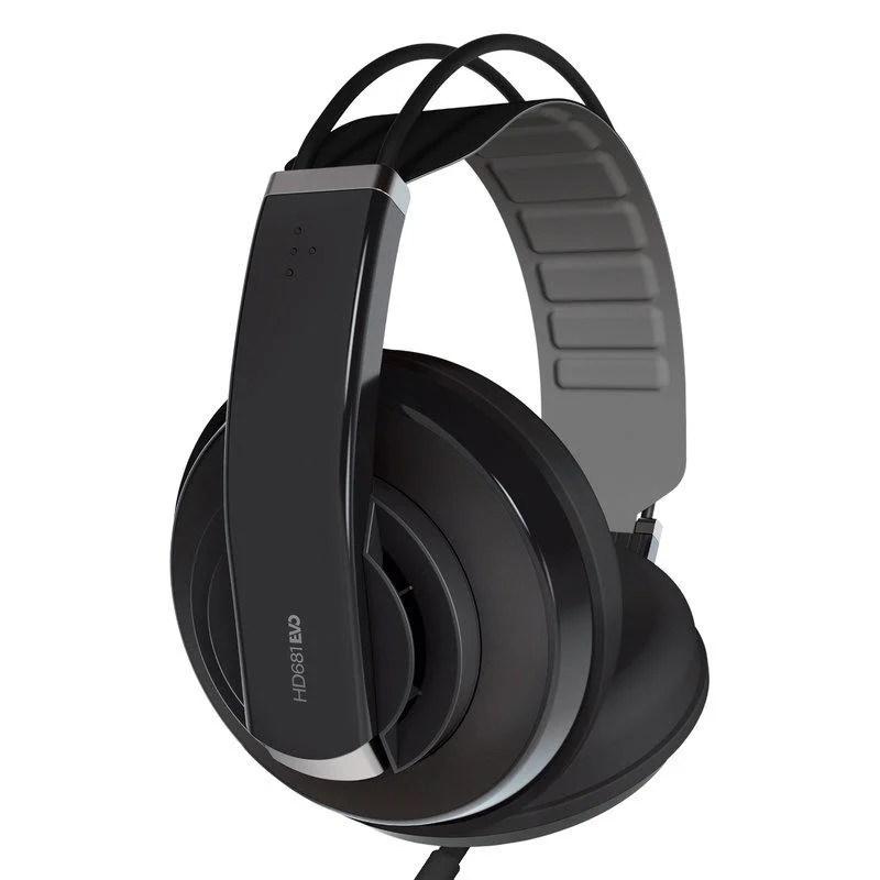 Superlux 耳機HD681 EVO 黑色 半封閉式 耳罩式 總代理公司貨 保固一年 - 露天拍賣