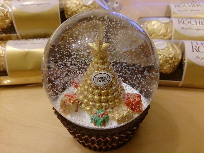【可刷卡】7-11 金莎水晶球 金沙水晶球 金沙巧克力水晶球 ( 經典金沙塔款) 金沙巧克力 - 露天拍賣