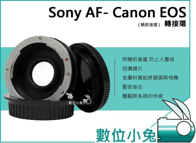 數位小兔【Sony MA AF A 鏡頭 轉CANON EOS 機身轉接環 】轉接環 可調光圈 600D 650D 5D3 Konica Minolta | 露天拍賣