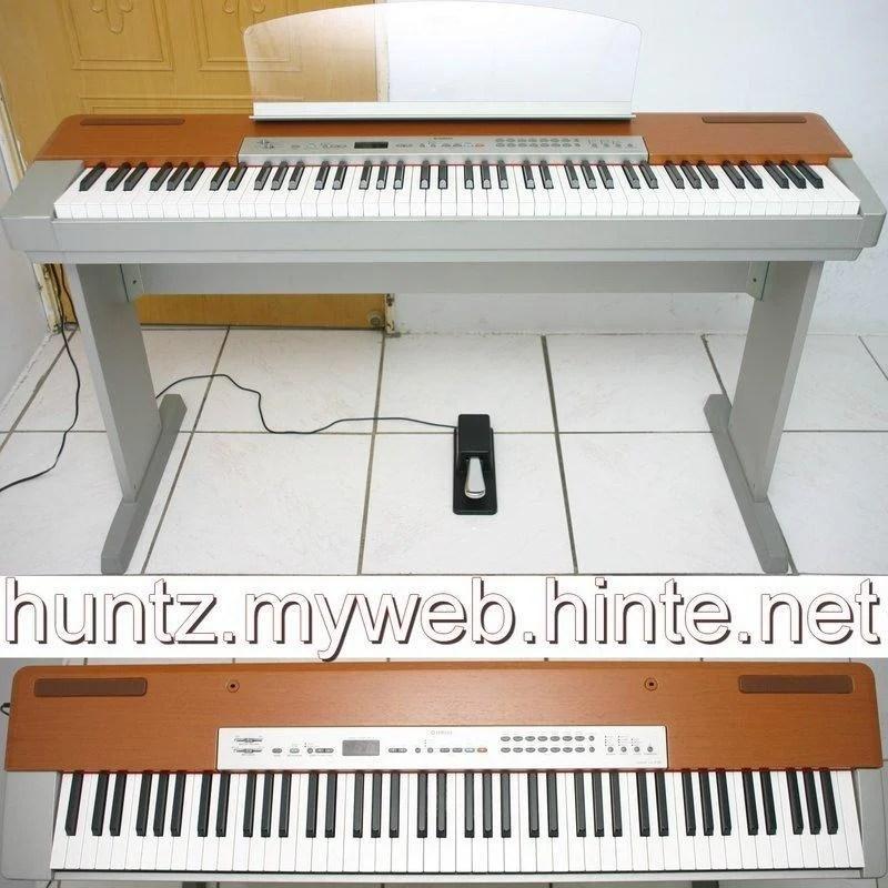 日本製山葉YAMAHA數位鋼琴P-120(2萬1直購)88鍵GH重鍵盤【田新中古琴行】P-140電鋼琴P-155回收購 - 露天拍賣