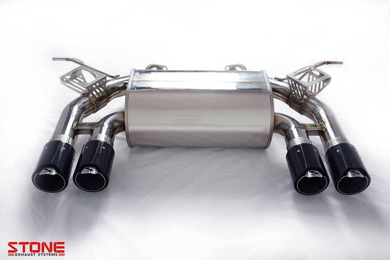 巨石 STONE 全段排氣管 BMW F80 M3 - 露天拍賣