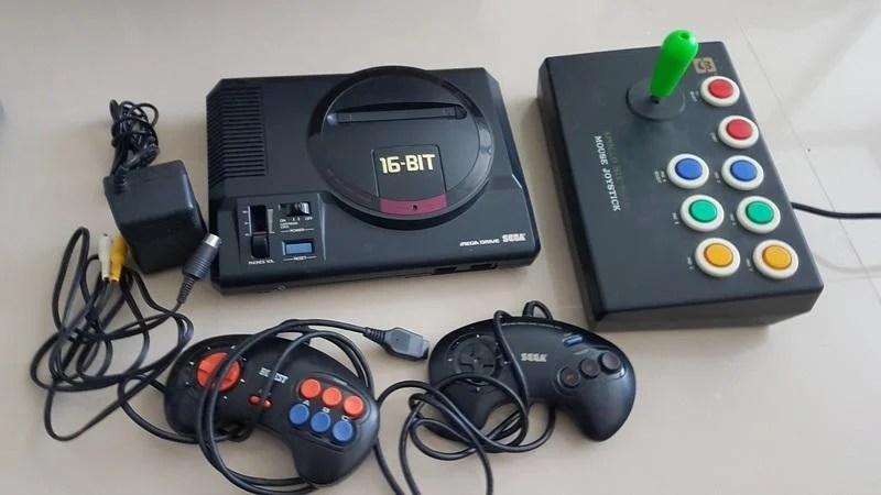 Sega Mega Drive 遊戲 主機 全套 日版 - 露天拍賣