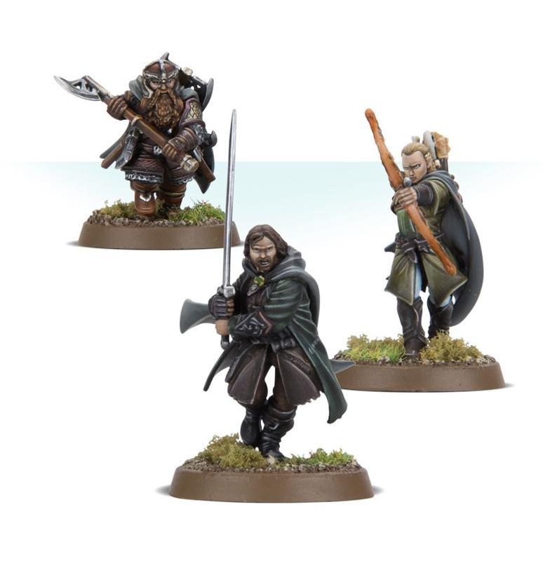 The Lord of The Ring 戰棋 【魔戒】中土之戰: 三位獵人   露天拍賣