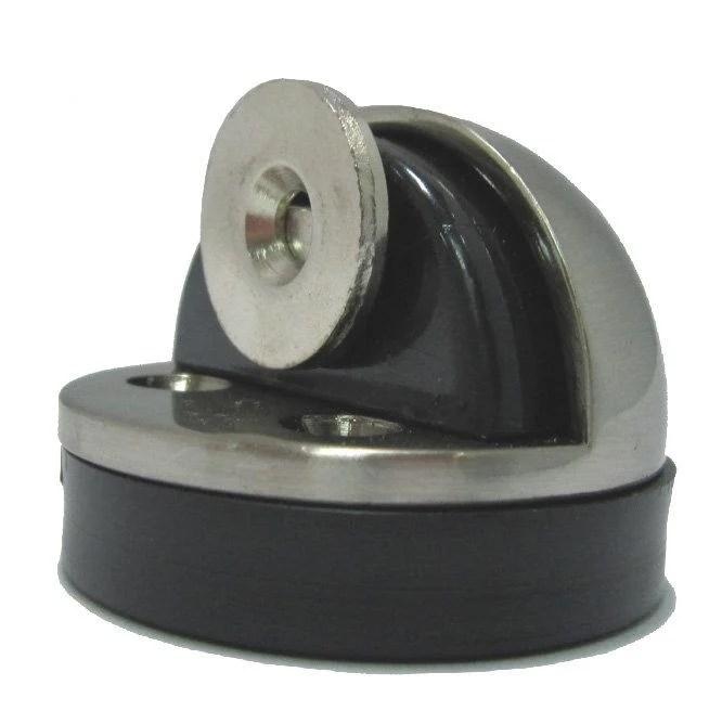 半圓高級門停 KVS-300專利磁鐵門擋 銀色 戶檔 門止 門吸 半圓緩衝門檔 - 露天拍賣