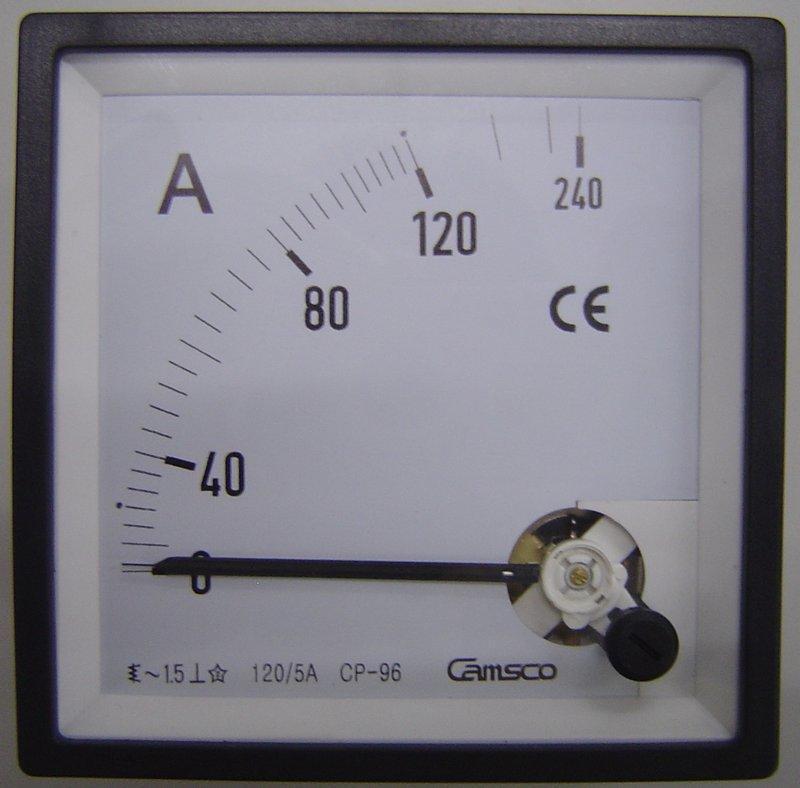 ~13號碼頭~指針型 CP-96 交流電流表 AC-@/5A - 露天拍賣