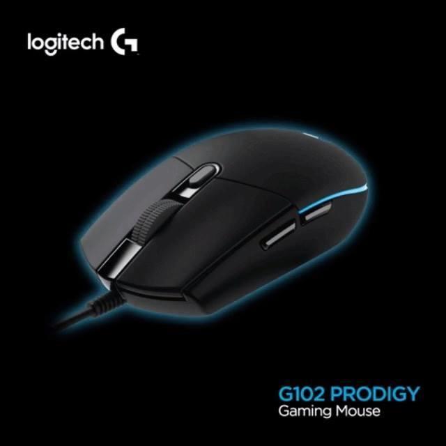 [哈GAME族] 羅技 Logitech G102 PRODIGY 有線遊戲滑鼠 提升準確度 自訂RGB背光 - 露天拍賣