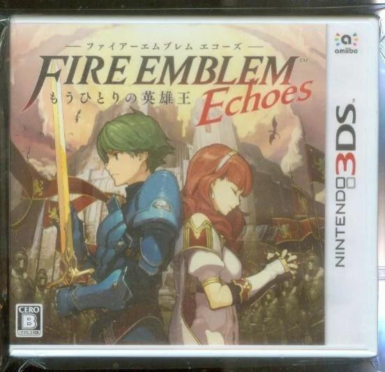 全新3DS原版片 日規機專用 中文版 聖火降魔錄 回音另一名英雄王(附畫冊) - 露天拍賣