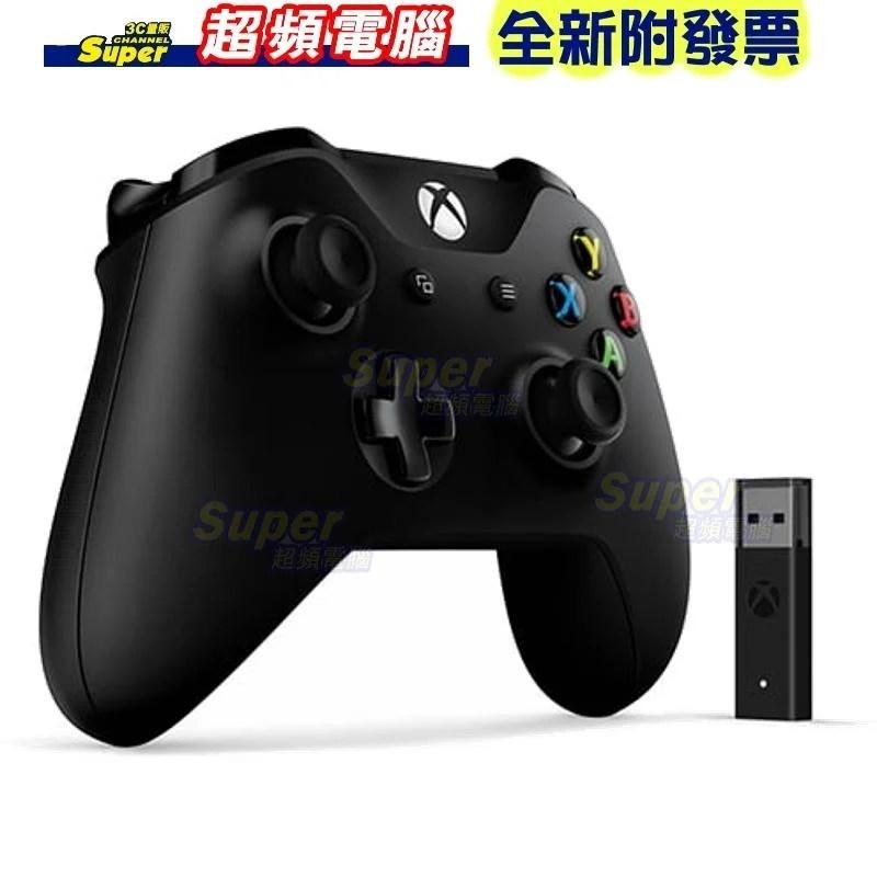 微軟Xbox控制器 + 適用於Windows 10的無線轉接器(4N7-00005)接收器僅適用Win10【全新附發票】 - 露天拍賣