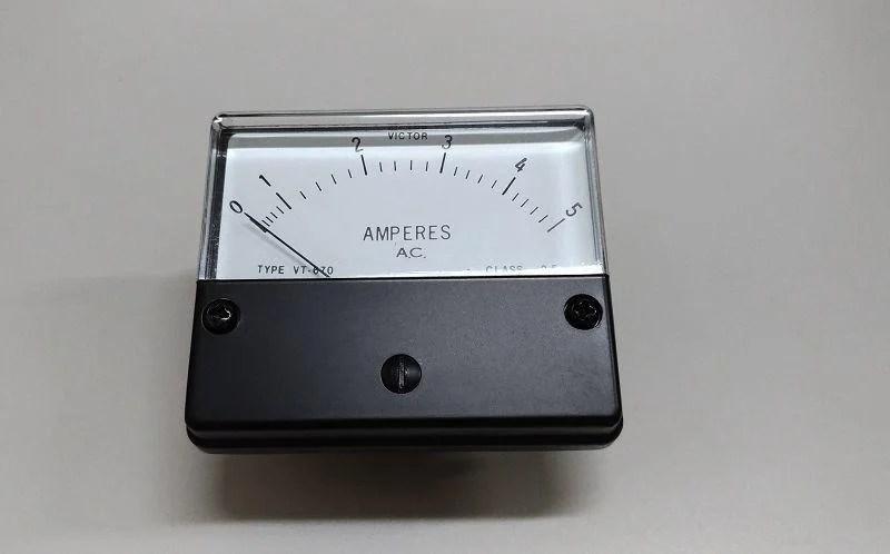 VICTOR VT-670 5A 交流 AC 指針式 電流表 機械式 電流錶 表頭 錶頭 - 露天拍賣