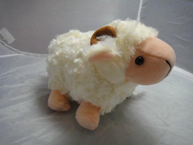 脫光光 脫毛羊 綿綿脫毛羊 脫身綿羊-絨毛娃娃 7吋米白 免運費 - 露天拍賣