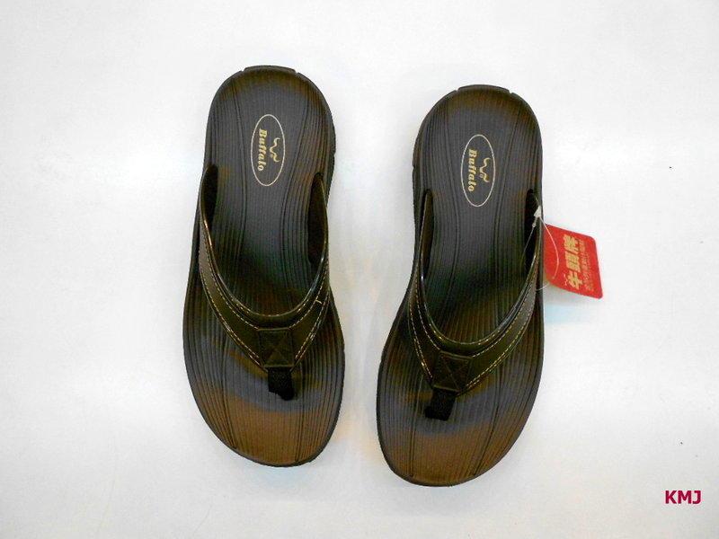 [康美佳鞋城]牛頭牌防水防滑超好穿咖啡色拖鞋大特價$180 - 露天拍賣