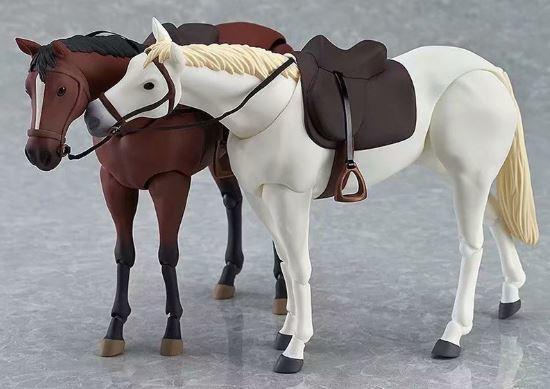 晴寶寶美少女 Figma 246 馬超可動素體馬 白色 茶色 - 露天拍賣